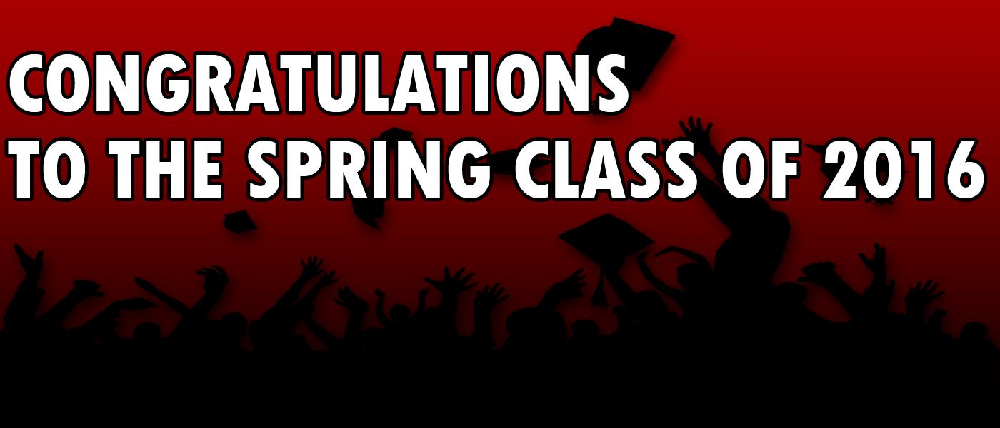 University announces graduates