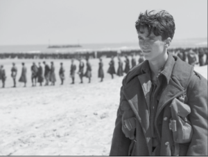 'Dunkirk' Premiered July 21, 2017 tells the story of the war in France in 1940./Photo Courtesy: Warner Brothers