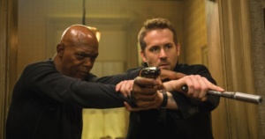 """The Hitman's Bodyguard stars Samuel L. Jackson and Ryan Reynolds and premiered on August 18. Moviegoers can see it at the Rialto in downtown Alva."