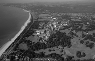 photo provided by Swansea University. NWOSU stdent Patricia Pixler will be attending Swansea University, in Wales, shown here in this aerial photo.